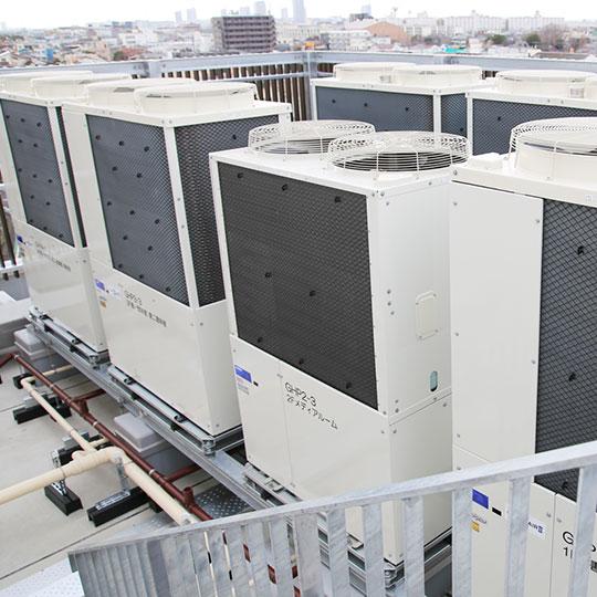 空気調和設備工事の設計・施工(イメージ)