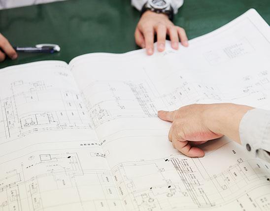 図面や書類の作成